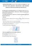 Hướng dẫn giải bài 15,16,17,18,19,20,21,22 trang 117,118 SGK Toán 9 tập 2