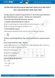 Hướng dẫn giải bài 65 trang 94 SGK Hình học 9 tập 2