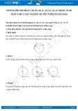 Hướng dẫn giải bài 27,28,29,30,31,32,33,34,35 trang 79,80 Toán 9 tập 2