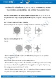 Hướng dẫn giải bài 70,71,72,73,74,75,76 trang 95,96 SGK Toán 9 tập 2
