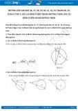 Hướng dẫn giải bài 36,37,38,39,40,41,42,43 trang 82,83 Toán 9 tập 2