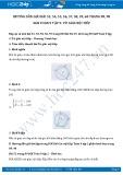 Hướng dẫn giải bài 53,54,55,56,57,58,59,60 trang 89,90 SGK Toán 9 tập 2
