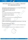 Hướng dẫn giải bài 10,11,12,13,14 trang 71,72 SGK Toán 9 tập 2