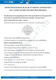 Hướng dẫn giải bài 83,84,85,86,87 trang 99,100 SGK Toán 9 tập 2