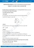 Hướng dẫn giải bài 15,16,17,18,19,20,21,22,23,24,25,26 trang 75,76 Toán 9 tập 2