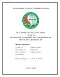 Đồ án Quy hoạch môi trường: Quy hoạch môi trường không khí tại thành phố Hà Nội đến năm 2020 và định hướng 2030