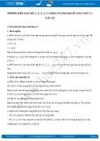 Hướng dẫn giải bài 1,2,3,4,5 trang 92 SGK Đại số và giải tích 11