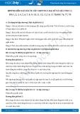 Hướng dẫn giải bài ôn tập chương 2 SGK Đại số và giải tích 11