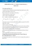 Hướng dẫn giải bài 1,2,3 trang 29 SGK Hình học 11