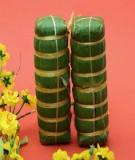 Cách gói bánh chưng dài đơn giản không cần dùng khuôn
