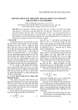 Phương pháp xác định tốc độ dao động của nền đất khi nổ mìn vi sai phi điện