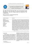 Đặc điểm biến đổi nhiệt dịch liên quan với quặng hóa vùng Pha Khieng - Nam Bo, Muang Long, tỉnh Luong Nam Tha, CHDCND Lào