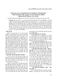 Đề xuất các giải pháp xử lý hợp lý nền đường phân bố đất yếu amQ22-3 ở các tỉnh ven biển đồng bằng Sông Cửu Long