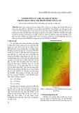 Ảnh hưởng của hệ tọa độ sử dụng trong khai thác mô hình Geoid toàn cầu