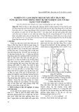 Nghiên cứu lắng đọng một số mẫu bùn than mịn vùng Quảng Ninh trong thiết bị thí nghiệm lắng cô đặc dạng tấm nghiêng