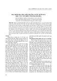 Đặc điểm địa hóa môi trường nước dưới đất khu vực ven biển tỉnh Thanh Hóa