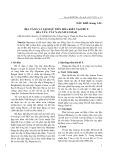 Địa tầng và lịch sử tiến hóa kiến tạo bể X rìa Tây - Tây Nam Myanmar