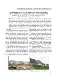 Nghiên cứu đánh giá sự ổn định sườn dốc bãi thải mỏ lộ thiên do tác động của các yếu tố ngoại sinh