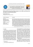 Đánh giá khả năng ứng dụng mạng nơ-ron nhân tạo dự báo lún  bề mặt mỏ do khai thác hầm lò