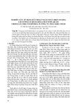 Nghiên cứu áp dụng kỹ thuật ngăn ngừa hiện tượng lở gương lò bằng hóa chất DMT-601A/B trong lò chợ cơ giới hóa ở Công ty Than Khe Chàm