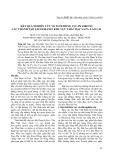 Kết quả nghiên cứu về tuổi đồng Vịu Pb Zircon các thành tạo Lecogranit khu vực Thác Bạc Sa Pa, Lào Cai