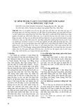 Sự hình thành và quy luật phân bố nước Karst ở vùng Đông Bắc Việt Nam
