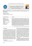 Khảo sát độ chính xác của một số mô hình trường trọng lực trên Biển Đông