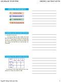 Bài giảng Quy hoạch tuyến tính - Chương 3: Bài toán vận tải