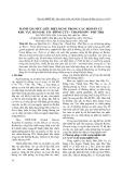 Đánh giá mức liều hiệu dụng trong các hộ dân cư khu vực Bản Dấu Cỏ - Đông Cửu - Thanh Sơn - Phú Thọ