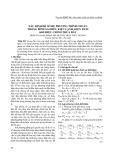 Xác định hệ số hệ phương trình chuẩn trong bình sai điều kiện cạnh, diện tích khi hiệu chỉnh thửa đất