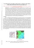 Xác định độ sâu mặt móng conrat khu vực phía Bắc bồn trũng sông Hồng theo phân tích tài liệu trọng lực