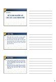 Bài giảng Kiểm toán thực hành - Chương 2: Kế toán nguồn và chi các loại kinh phí