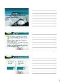 Bài giảng Kiểm toán thực hành - Chương 3: Kế toán vốn bằng tiền và các khoản thanh toán