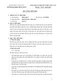 Đề cương môn học Kiểm toán 2