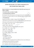 Giải bài tập Một số Bazơ quan trọng (tiếp) SGK Hóa học 9