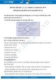 Giải bài tập Mối quan hệ giữa các loại chất vô cơ SGK Hóa học 9