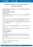 Giải bài tập Hợp kim sắt gang thép SGK Hóa học 9