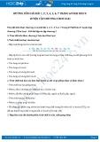 Giải bài tập Luyện tập chương 2 Kim loại SGK Hóa học 9