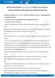 Giải bài tập Sơ lược về bảng tuần hoàn các nguyên tố hóa học SGK Hóa học 9
