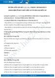 Giải bài tập Khái niệm về hợp chất hữu cơ và hóa học hữu cơ SGK Hóa học 9