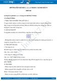 Giải bài tập Metan SGK Hóa học 9