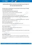 Giải bài tập Sự tạo ảnh trong máy ảnh SGK Vật lý 9