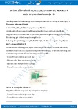 Giải bài tập Hiện tượng cảm ứng điện từ SGK Vật lý 9