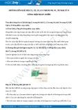 Giải bài tập Dòng điện xoay chiều SGK Lý 9