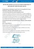 Giải bài tập Điều kiện xuất hiện dòng điện cảm ứng SGK Lý 9