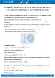 Giải bài tập Hình cầu, diện tích mặt cầu và thể tích hình cầu SGK Toán 9 tập 2