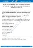 Giải bài tập Luyện tập hình trụ – Diện tích xung quanh và thể tích của hình trụ SGK Toán 9 tập 2