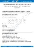 Giải bài tập Ôn tập chương 3 SGK Hình học 9 tập 2