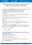 Giải bài tập Đường tròn ngoại tiếp, đường tròn nội tiếp SGK Toán 9 tập 2