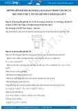 Giải bài tập Ôn tập chương 4 SGK Hình học 9 tập 2